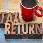 Tax return wording